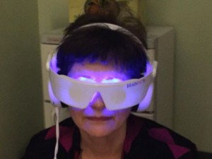 Brenda with Brain Tap
